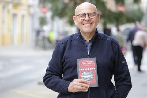 Toni Mollà, l'autor de març de Full de Lectura